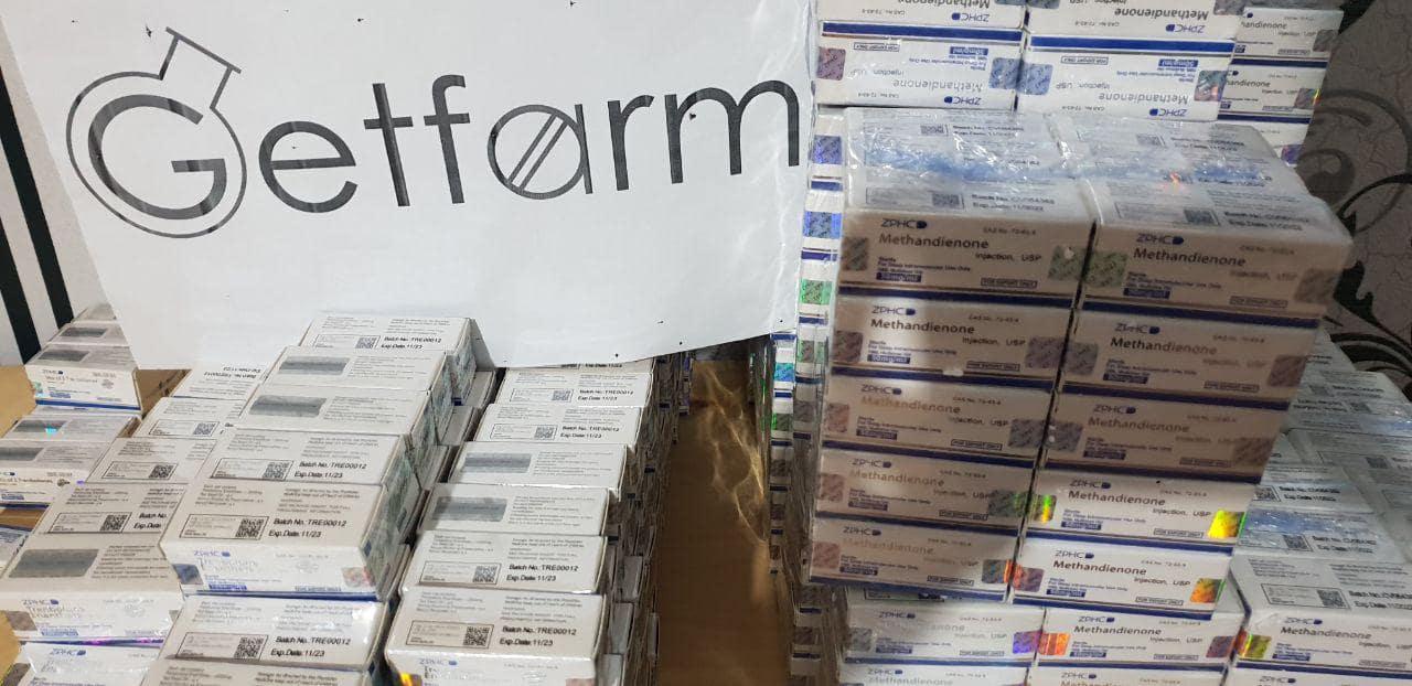 Поставки стероидов GetFarm.kz