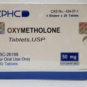 Оксиметолон в таблетках от ZPHC
